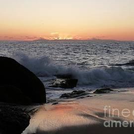 John Franke - Sunset over Catalina Island