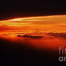 A Magnificent Sunset Over France. Vision  # 5 by Poet's Eye
