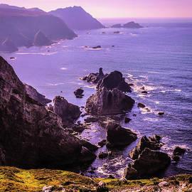 Lexa Harpell - Sunset over Glenlough Ireland