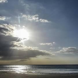 NaturesPix - Sunset over  Hapuna Beach