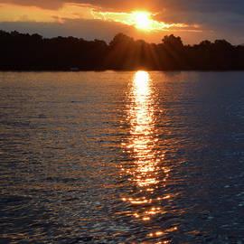 Pat Turner - Sunset Over Lake Bowen