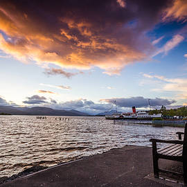 Arianna Petrovan - Sunset over Loch Lomond