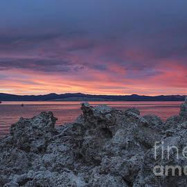 Sunset Over Mono Lake by Sandra Bronstein