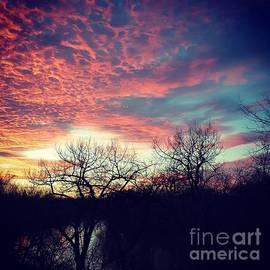 Manuel Matas - Sunset Over River
