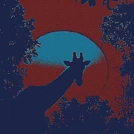 Celestial Images - Sunset over serengeti