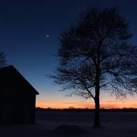 John Franke - Sunset Over The Farm