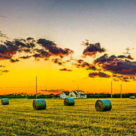 Nick Zelinsky - Sunset over the Fields