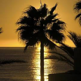 NaturesPix - Sunset over the Mediterranean