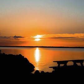 Michael Hills - Sunset Picnic Table