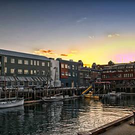 Catherine Melvin - Sunset Portland Boat Pier