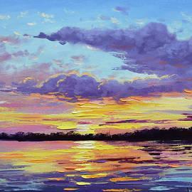 Graham Gercken - Sunset reflections
