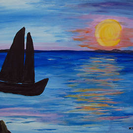 Barbara McDevitt - Sunset Sail Dark