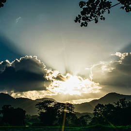 Sunset Suchitoto 4 by Totto Ponce