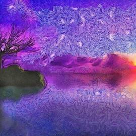 Maciek Froncisz - Sunset Tribute to Van Gogh