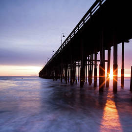 Sunset Under the Pier - Dan Holmes