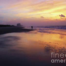 Jeff Breiman - Sunset Walk On Myrtle Beach