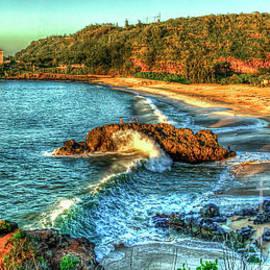 Reid Callaway - Sunsets Glow Waimea Bay North Shore Oahu Hawaii Collection Art