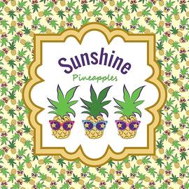 Sunshine Pineapples by MM Anderson