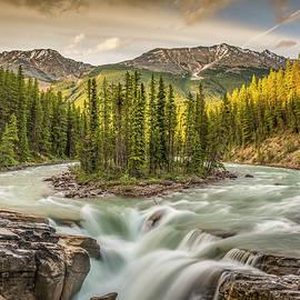 Yves Gagnon - Sunwapta Falls Jasper National Park