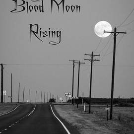 Super Blood Moon Rising by Imagery by Charly