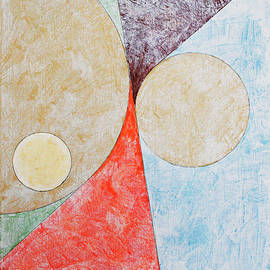Ben Gertsberg - Suprematist Composition No 2 With A Circle