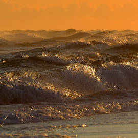 Cape Cod Bay - Rough Waters by Dianne Cowen Photography