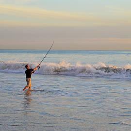 Lynn Bauer - Surf Casting in Ventura