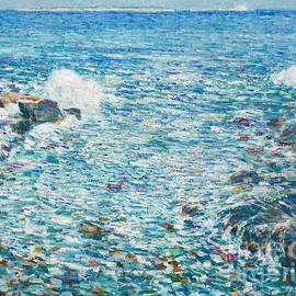 Childe Hassam - Surf, Isles of Shoals, 1913