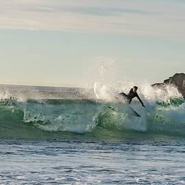 Bruce Pritchett - Surfer Carlsbad Jetty