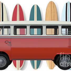 Surfer Van Tee - Edward Fielding