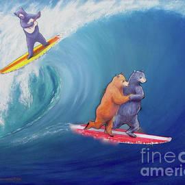 Jerome Stumphauzer - Surfing Bears