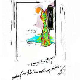 Surfing the Oddities by Zsanan Studio