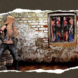 John Haldane - Surprise at the Window