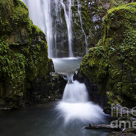 Susan Creek Falls Oregon 4 by Bob Christopher
