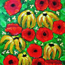 Sarah Loft - Susans and Poppies