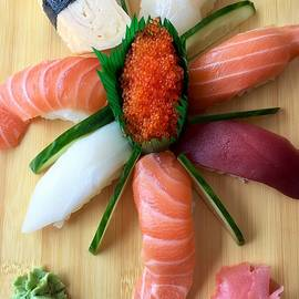 Sushi is Art #2 by Andrea Rea