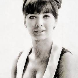 John Springfield - Suzanne Pleshette, Vintage Actress by John Springfield