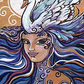 Swan Goddess by Katherine Nutt