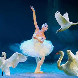 Ericamaxine Price - Swan Lake Ballet - Painting