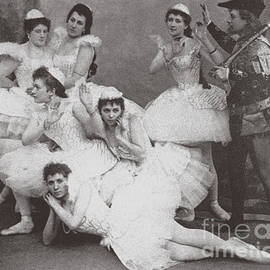 Swan Lake, Mariinsky Theatre, 1895  - Russian School
