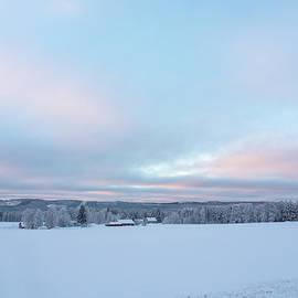 Swedish Lapland in winter by Tamara Sushko