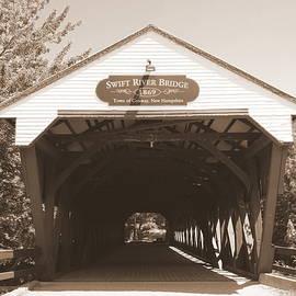Swift River Bridge by Karen Cook