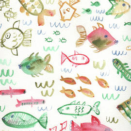 Swim Fishies by Kristy Lankford