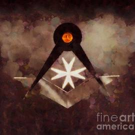 Symbol of the Freemasons by Pierre Blanchard - Pierre Blanchard