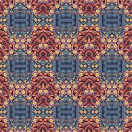 Helena Tiainen - T J O D Mandala Series Puzzle 5 Arrangement 7 Tile