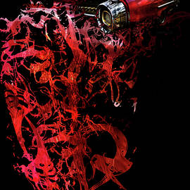 Glenda Wright - T Shirt Deconstruct Red Cadillac