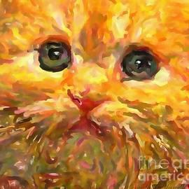 Catherine Lott - Tabby Catlist Painting