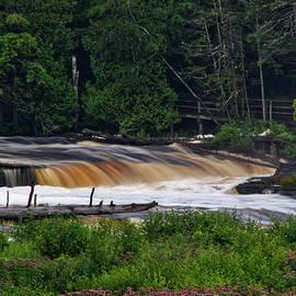Thomas Woolworth - Tahquamenon Lower Falls Upper Peninsula Michigan 04
