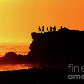 Christopher Christoforou - Tai Chi Sunset - Santa Cruz - California