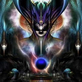 Xzendor7 - Taidushan Sai - Spirit Of Power WD Fractal Portrait